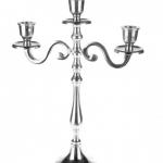35cm aluminium candelabra