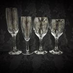 Standard glassware range 7oz and 9oz plus flutes standard and tall sizes