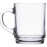 Glass coffee mug or mulled wine cup .25p each