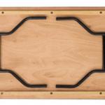 trestle table bottom