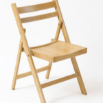 Wooden folding chairs £2.20